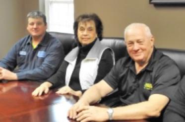 McKean Township Supervisors Brian Cooper, Janice Dennis, Kenneth Neuburger